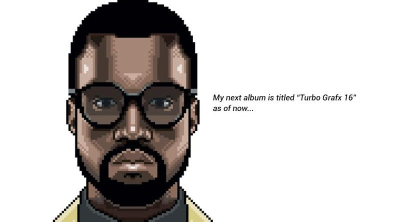 Kanye icon from Kanye Quest 3030