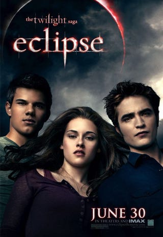 Illustration for article titled Twilight Eclipse Poster