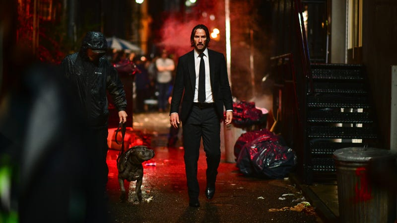 Illustration for article titled Keanu Reeves explains the fancy Latin subtitle on John Wick 3
