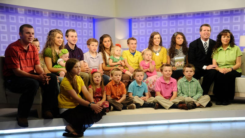 The Duggars in 2011. Image via Getty.