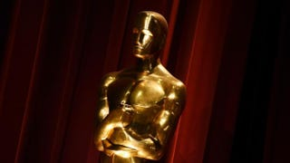 An Oscar statue is on display during the Academy Awards nominations announcement at the Samuel Goldwyn Theater in Beverly Hills, Calif., on Jan. 14, 2016.MARK RALSTON/AFP/Getty Images