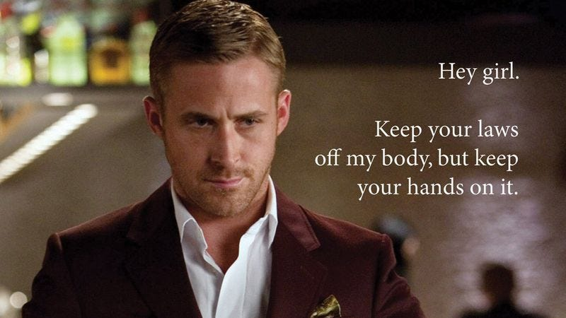 Illustration for article titled Ryan Gosling memes make men more feminist, study shows