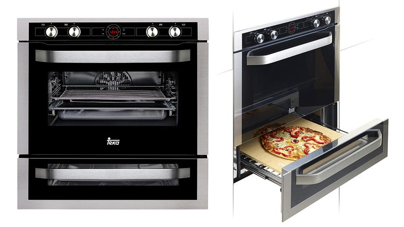 Illustration for article titled A Pizza Lover's Dream Oven Turns Your Kitchen Into a Domino's