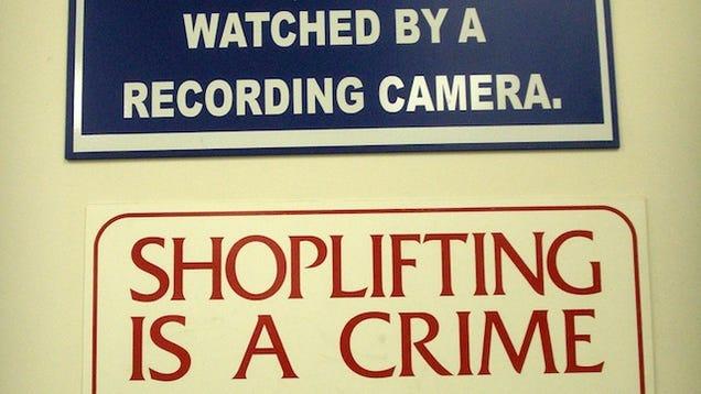 Essay on shoplifting
