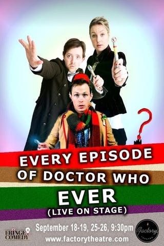 Illustration for article titled Watch every single Doctor Who episode ever, in a single hour