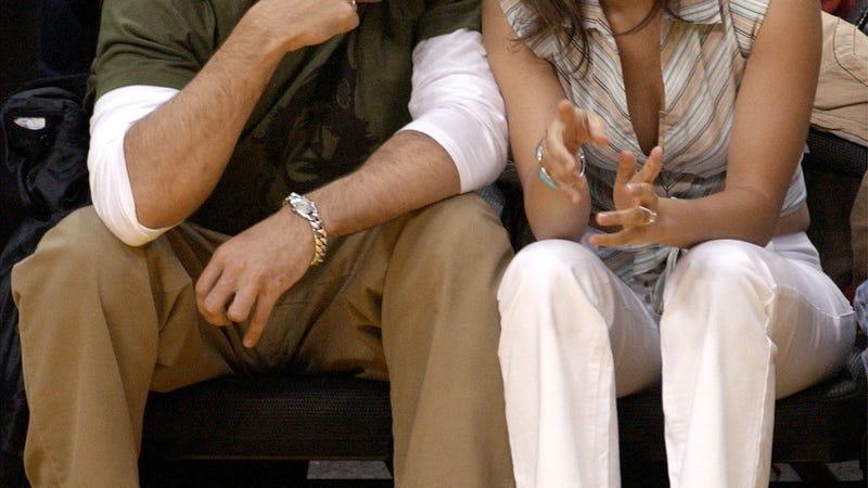 Image of Ben Affleck and Jennifer Lopez via Getty Images.