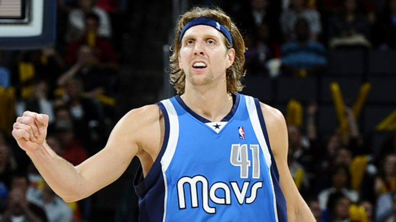 Illustration for article titled Dirk Nowitzki's 20,000 Points Not Worth Nearly As Much In European League
