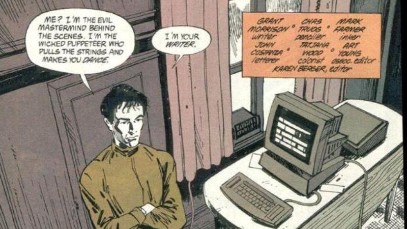 Grant Morrison in DC's Animal Man