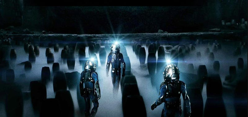This is not an image from Alien: Covenant. It's from Prometheus, but it's crucial if you read below. Image: Fox