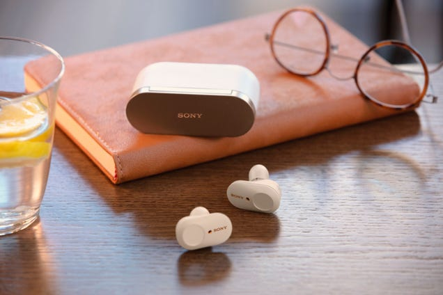 Sony WF-1000XM3 True Wireless Headphones Are Down to $158, the Lowest Price Yet
