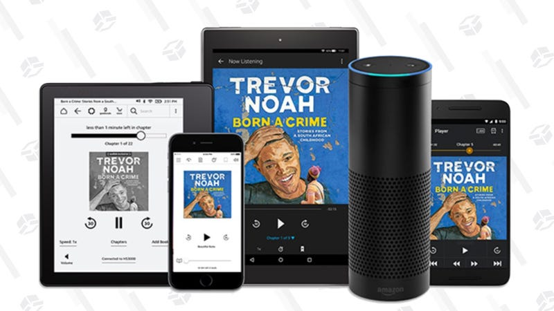Three Month Free Audible Trial | Amazon | Prime members and new Audible members only