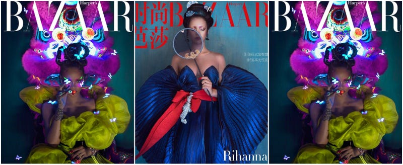 Illustration for article titled Supermodels, You May All Retire. Rihanna Just Killed Another Magazine Cover