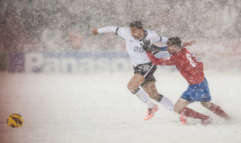 Illustration for article titled No Costa Rica, You Should Not Get To Redo A World Cup Qualifier Against US Soccer Because It Was Snowing