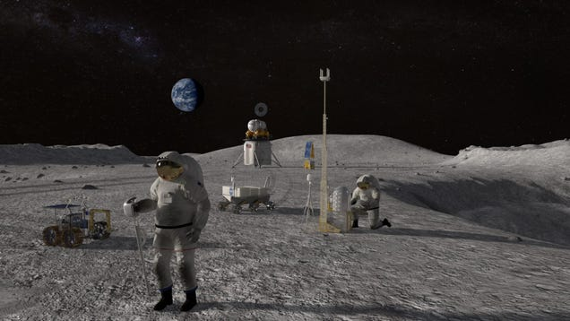 Congressional Watchdog Skeptical of NASA's Plan to Return Astronauts to the Moon by 2024