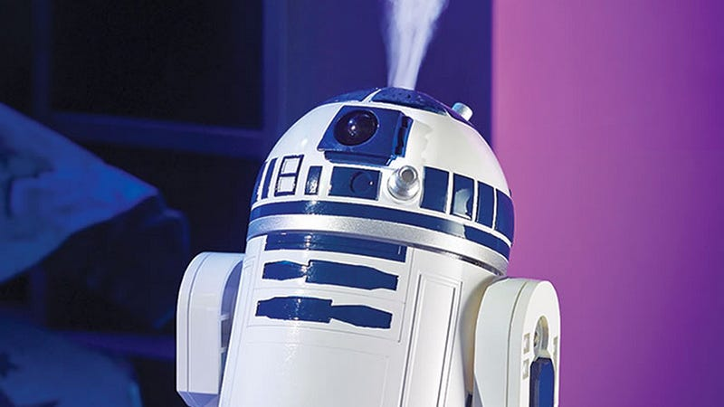 Illustration for article titled This R2-D2 Is Either Really Angry or an Adorable Humidifier