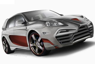 Illustration for article titled Status Design Porsche Cayenne Biggest Russian Failure Since Glasnost