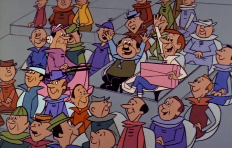 Illustration for article titled Why Are There No Black People On The Jetsons?