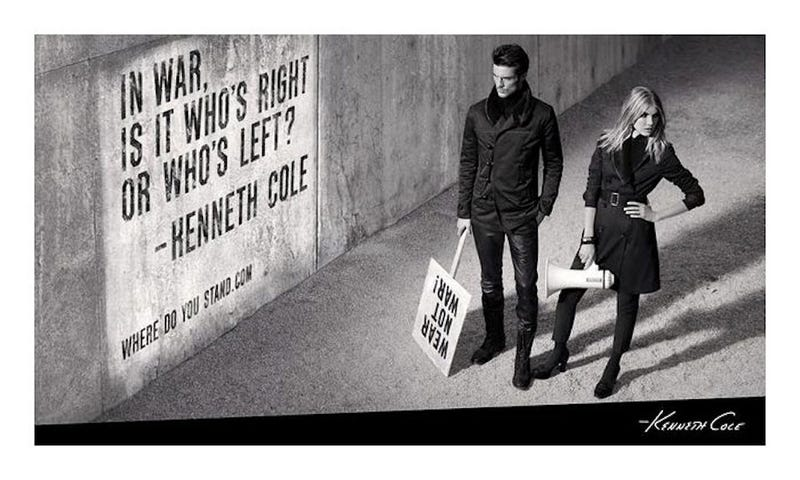 Illustration for article titled Kenneth Cole Explains Himself, Just Wants You to Think About Syria