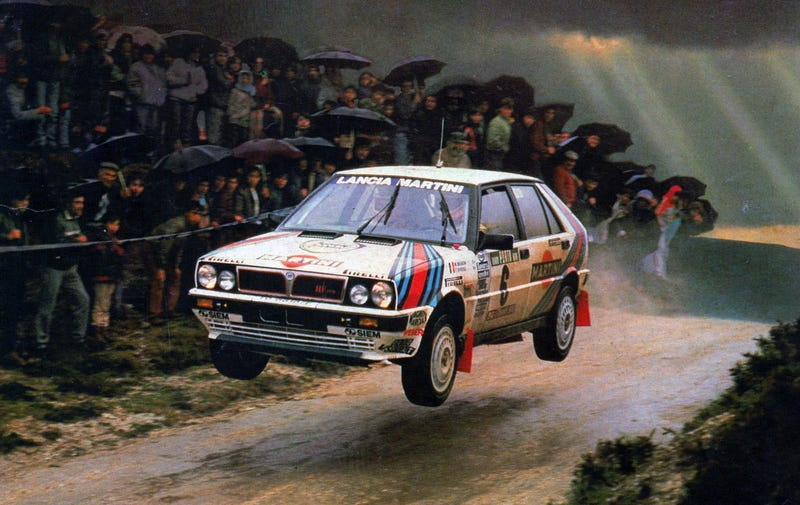 Illustration for article titled Because Flying Lancia Martini