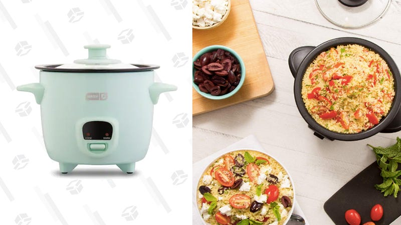 Have Rice for Dinner Every Night When You Buy This $17 Dash Mini Rice Cooker