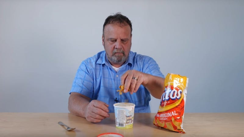 Illustration for article titled We are pleased to introduce you to a man who will eat anything the internet tells him to