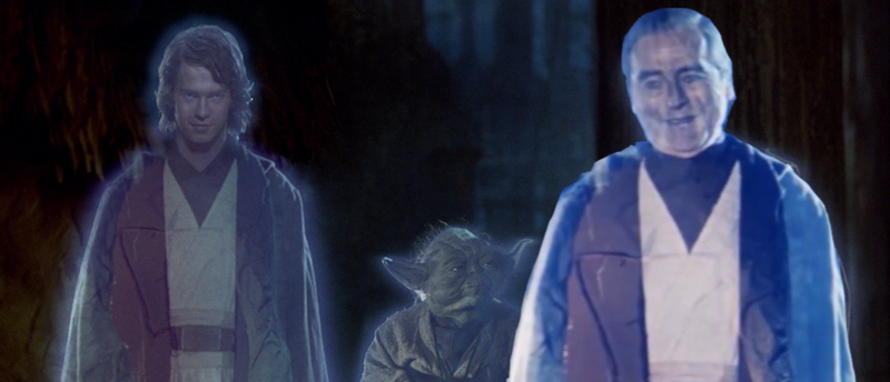Image: This awful photoshop of the two Anakin ghosts by the author