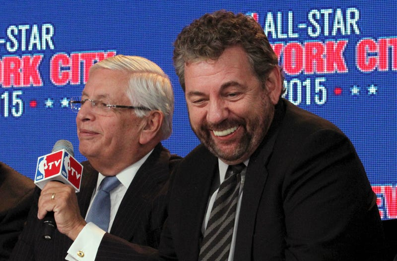 Illustration for article titled David Stern Has James Dolan's Back Too