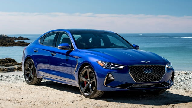 bce3114ad7 The Genesis G70 Configurator Is Slick As Hell ...