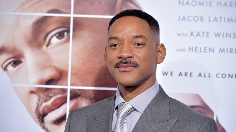 Image of Will Smith rethinking things, via Getty