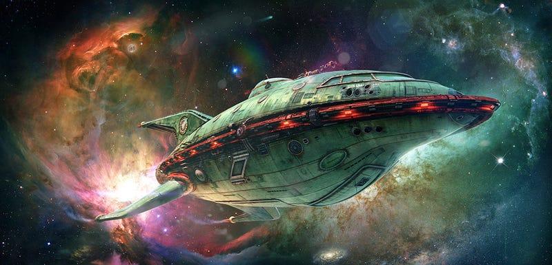 Illustration for article titled ¿Qué aspecto tendría la serie Futurama en imagen real?
