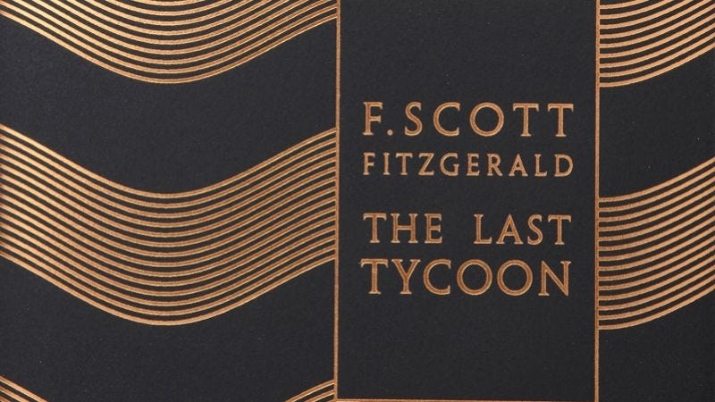 Illustration for article titled HBO developing F. Scott Fitzgerald's The Last Tycoonas a series