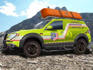Illustration for article titled Subaru Forester Mountain Rescue Concept Ascending To SEMA