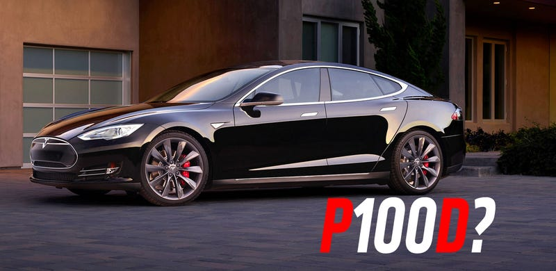 Illustration for article titled A Hacker May Have Discovered Plans For A Tesla P100D