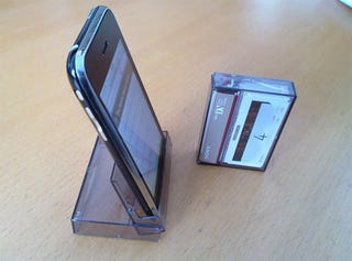 Illustration for article titled Life Is Rarely as Simple as the Mini DV Case iPhone Stand
