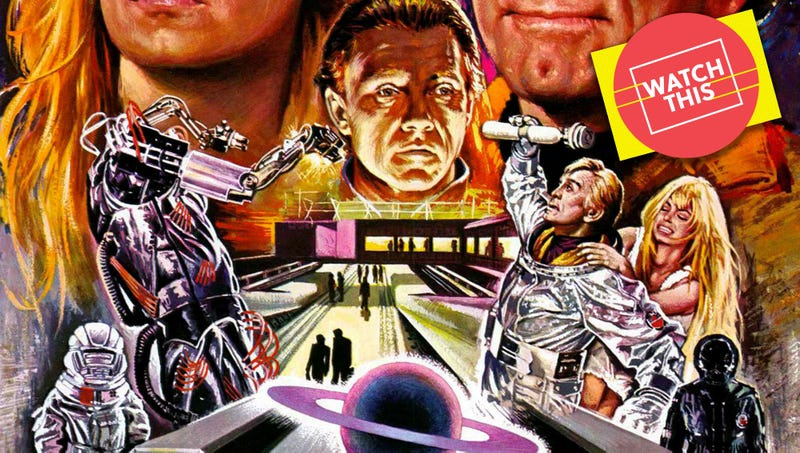 A stoned Kirk Douglas fights H...