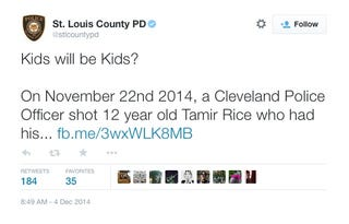 Illustration for article titled St. Louis PD working to rebuild trust. By blaming 12-year olds