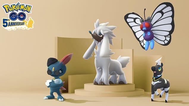 Pokémon Go Gets 'Form Changes' For Fashion Week