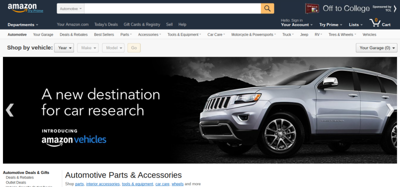 Illustration for article titled Amazon Now Sells Cars
