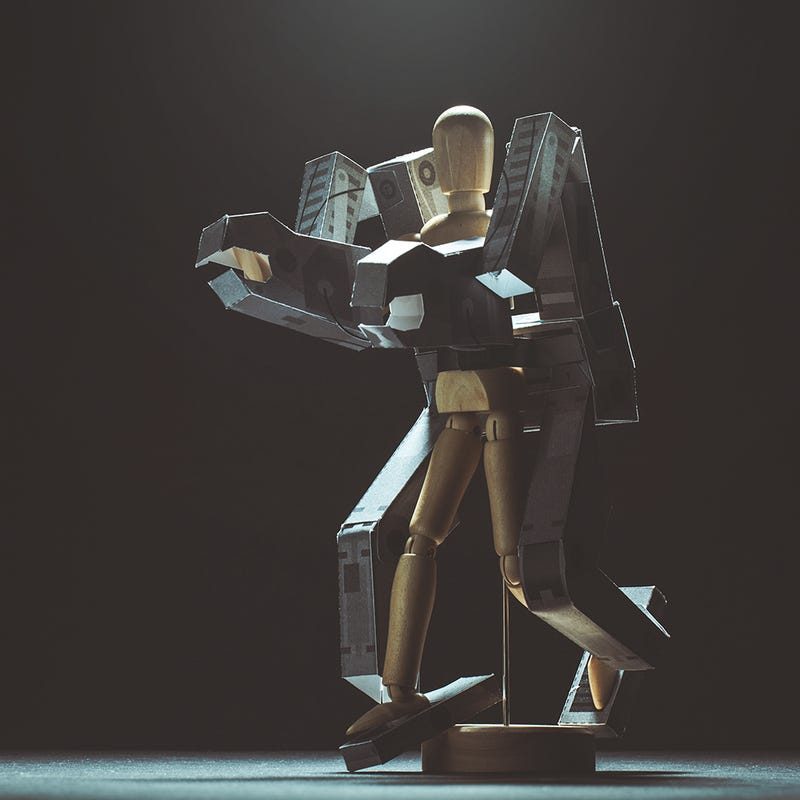 Illustration for article titled Download A Papercraft Exo-Suit For Barbie