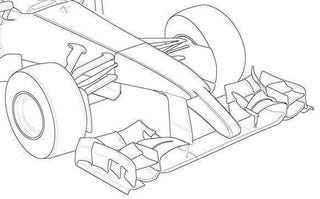 Illustration for article titled Possible rendering of a 2014 Ferrari F1 front wing
