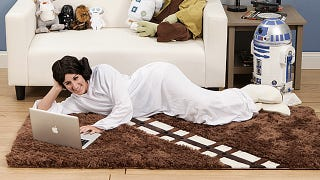 Illustration for article titled Walk All Over a Wookiee With a Chewbacca Rug