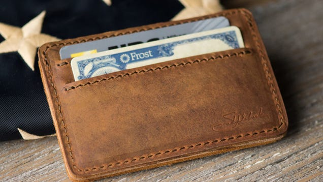 Your Favorite Front Pocket Wallet Is Saddleback's Leather ID Wallet