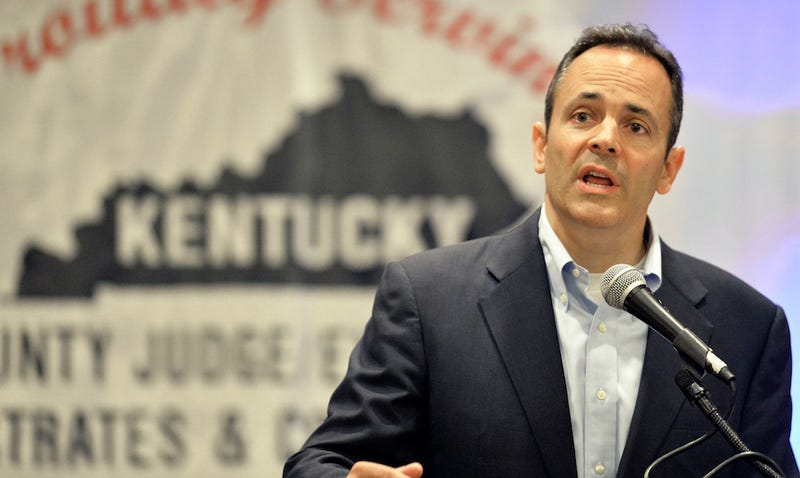 Illustration for article titled Well, Shit, Matt Bevin Is Kentucky's New Governor