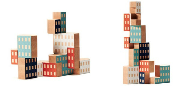 Play Architectural Jenga With These Awesome City Blocks