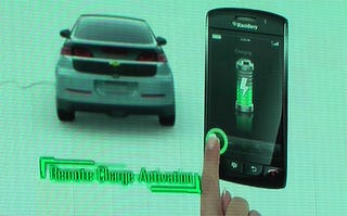 Illustration for article titled Chevy Volt: There's An App For That