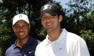 Illustration for article titled Tiger Woods And Tony Romo To Double-Team Pebble Beach