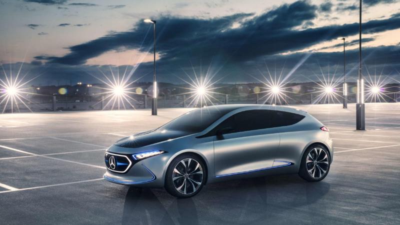 The Mercedes-Benz Concept EQA