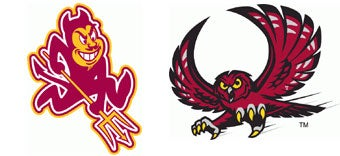 Illustration for article titled NCAA First Round: (6) Arizona State vs. (11) Temple