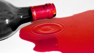 Illustration for article titled $1M Worth Of Red Wine Destroyed In Tragic Accident