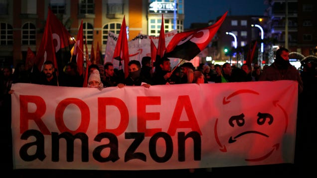 Amazon Workers in Spain and Germany Announce Strikes Ahead of Christmas: 'Change Must Come Now'